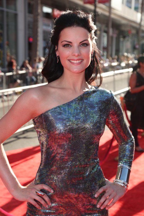 "Jaimie Alexander arrives at the premier of ""Thor"""
