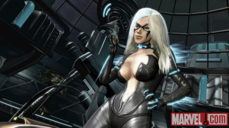 black cat spider-man edge of time