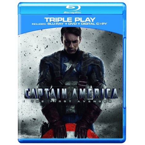 Captain America TFA Cover Blu-Ray
