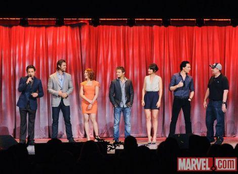 The Avengers Cast - 01