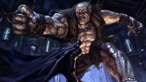 Solomon Grundy and Batman