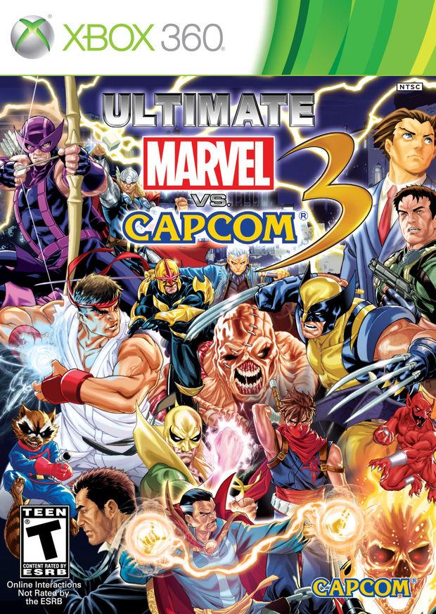 Les recuerdo que Ultimate Marvel vs Capcom 3 saldrá a la venta el 15