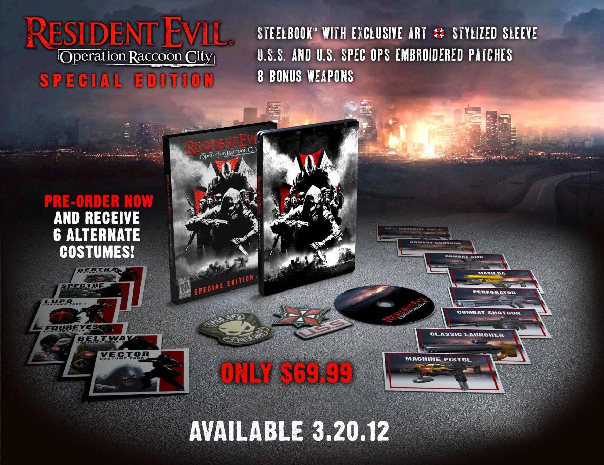 Resident Evil: Operation Raccoon City | Se Muestra la Edición
