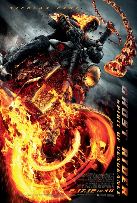 Ghost Rider Spirit of Vengeance Poster 01