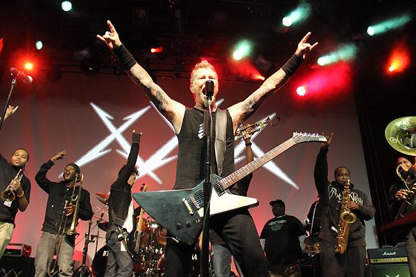 Metallica tocará en Honduras