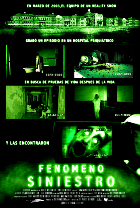 Fenomeno Siniestro - Poster Final