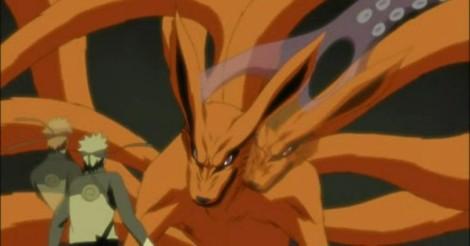 Naruto vs Kyuubi