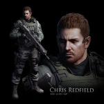 Resident Evil 6 Arts Chris Redfield