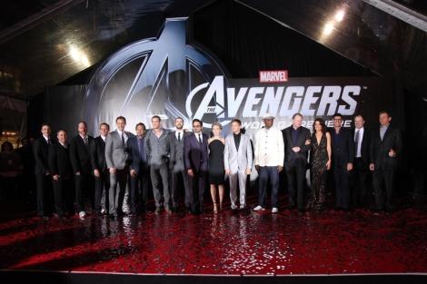 The Avengers Premiere 01