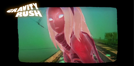 Concepr art gravity rush