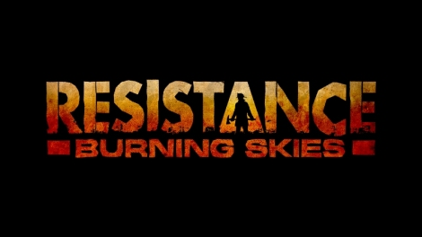 resistance-burning-skies-logo