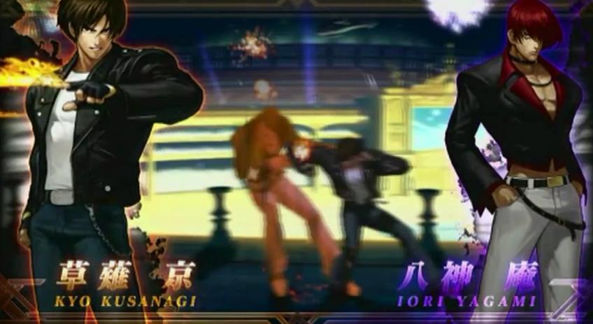 el tráiler de lanzamiento de su nuevo título The King of Fighters