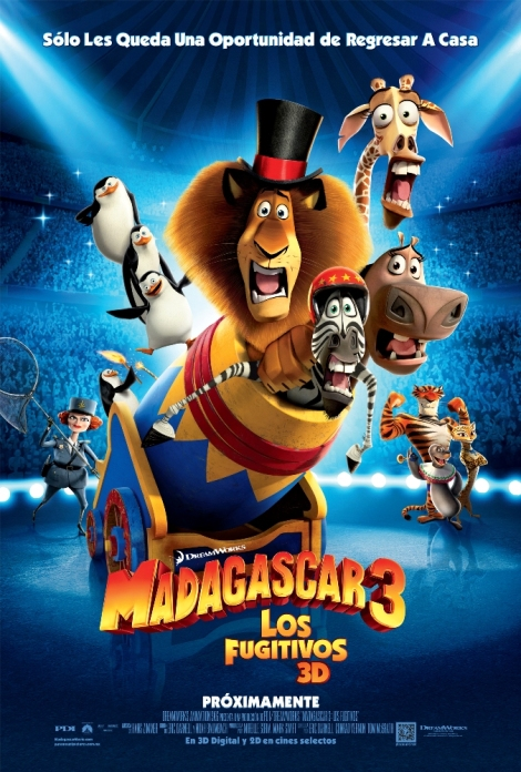 Madagascar 3 - 01