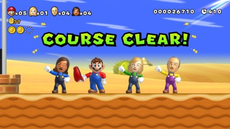 New Super Mario Bros para Wii U
