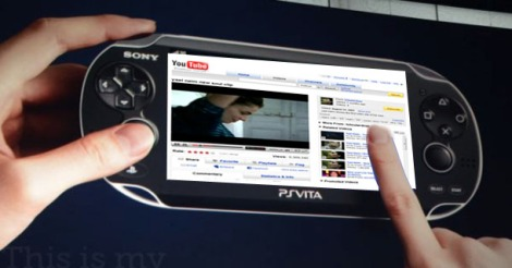 ps vita touch youtube