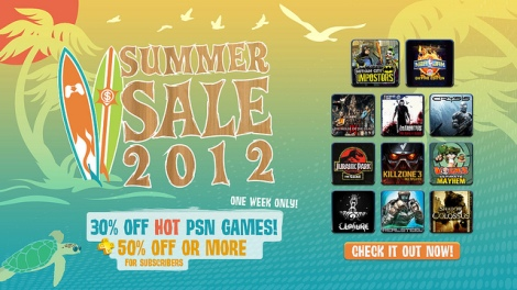 PSN Summer Sale