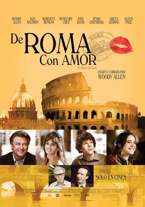 De Roma con Amor - poster