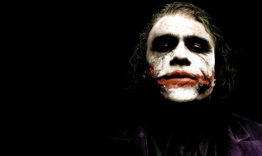 Dark Knight Joker Face Paint