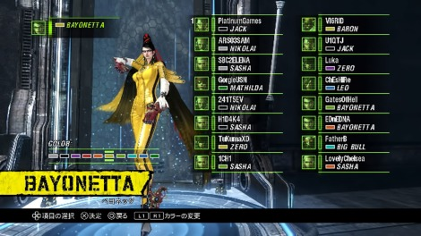 Anarchy Reigns Bayonetta