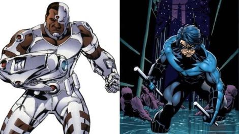 Nightwing y Cyborg