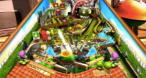 Plants vs. Zombies Pinball table