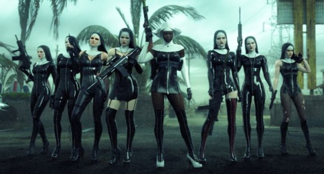 PVC-clad nuns Hitman Absolution