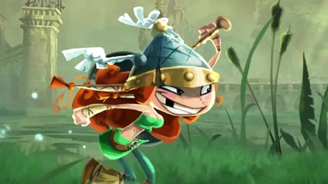 Rayman Legends Barbara