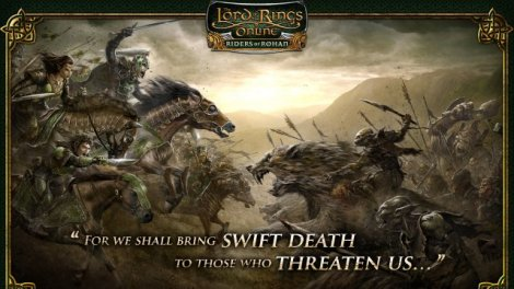 Lord of the Rings Online Riders of Rohan
