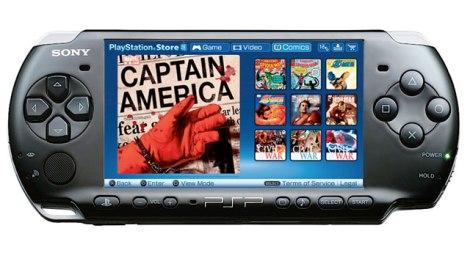 PSP Comics
