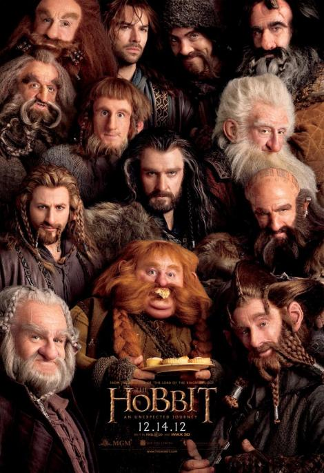 The Hobbit An Unexpected Journey Poster 1
