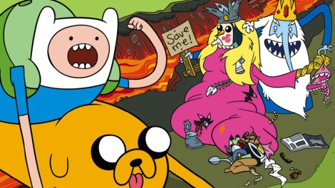 Adventure Time Hey Ice King! Why'd You Steal Our Garbage