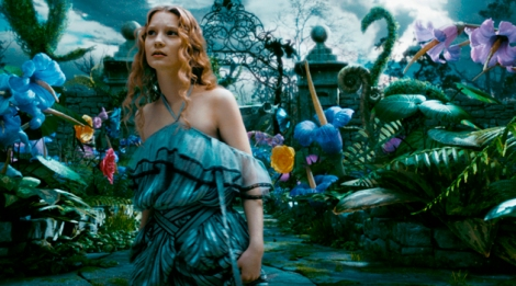Alice in wonderland, Tim Burton, Disney, Hollywood