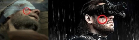 The Phantom Pain se muestra en tráiler e imágenes Cicatriz
