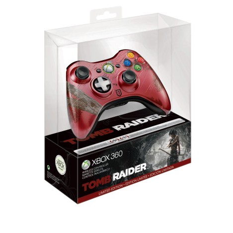 FINAL - Xbox 360 Tomb Raider Limited Edition Wireless Controller - Boxed...