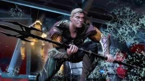 Cyborg Vs Aquaman