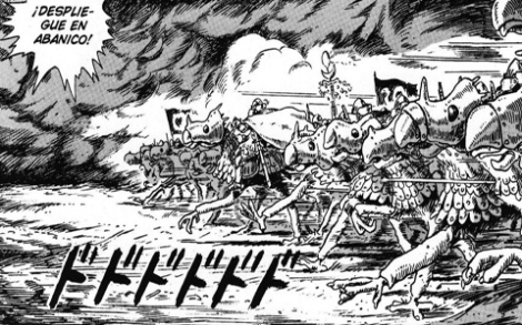Nausicaä del Valle del Viento batallas