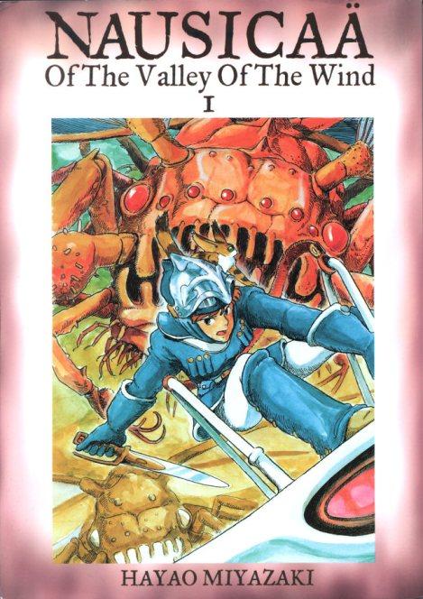 Nausicaä del Valle del Viento manga cover
