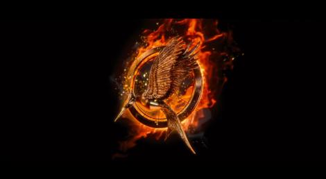 The Hunger Games en llamas