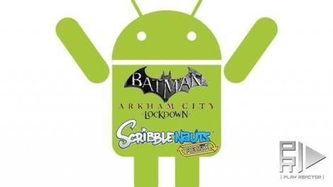 android batman-scrible