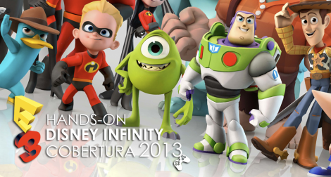 Hands on Disney infinity
