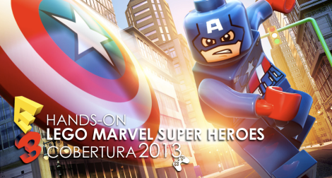 Hands on lego marvel