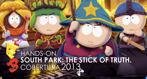 Hands on south park