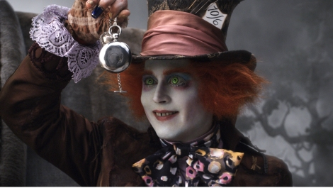 Johnny deep mad hatter