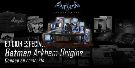 Edicion especial Batman Arkham Origins