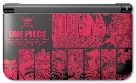 Nintendo-3DS-XL-One-Piece-Luffy-Red