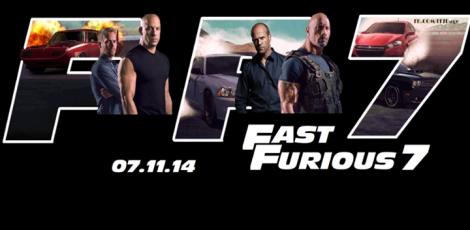 Rápido y Furioso 7 poster
