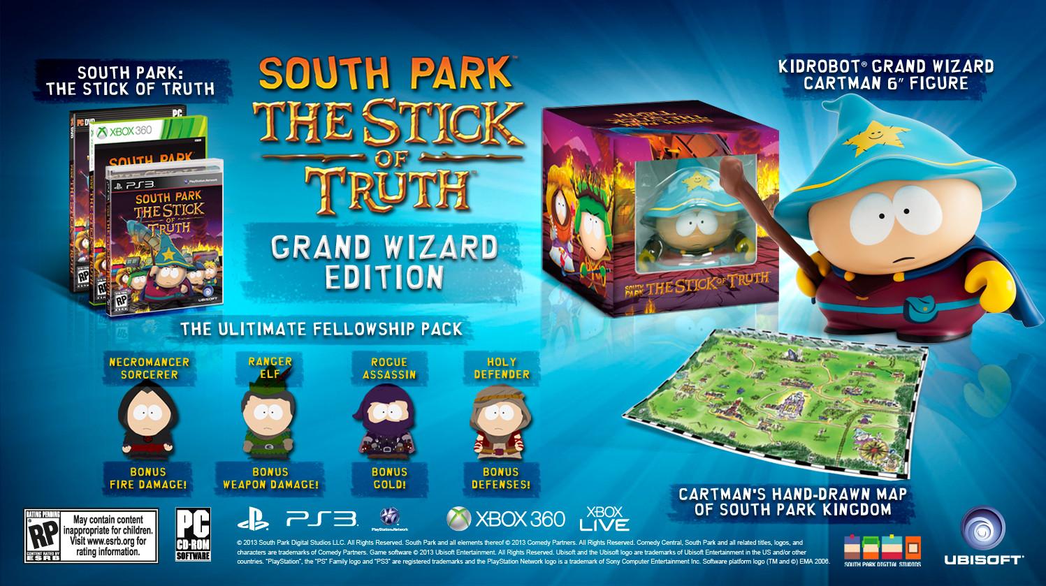 South Park The Stick Of Truth Ubisoft Anuncia La Fecha