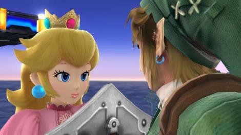 Super-Smash-Bros-Peach-Link