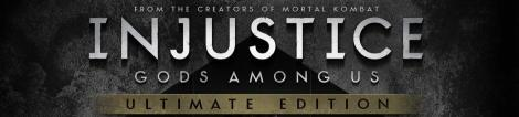 Injustice Gods Among Us Ultimate Edition Banner Logo