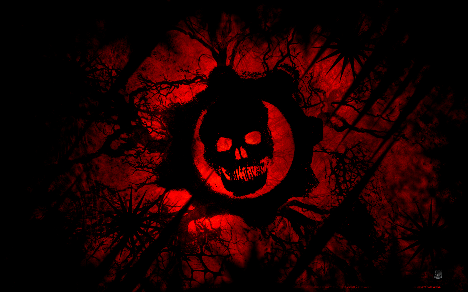 Gears of war logo 1 play reactor for Sign of portent 3